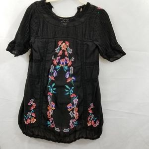 FREE PEOPLE Mini Small baby doll embroidered